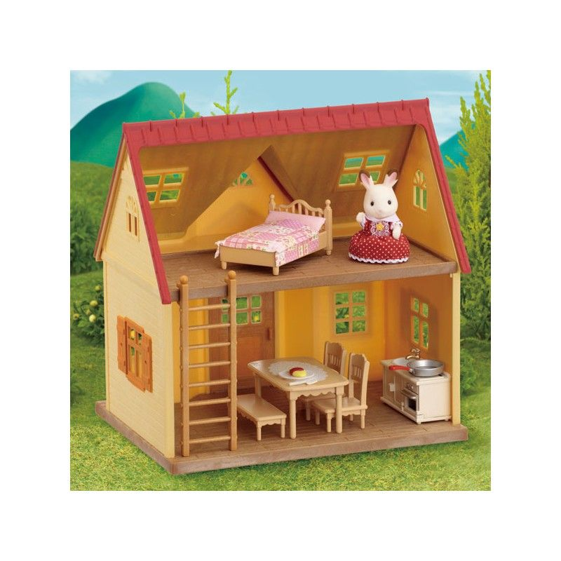 sylvanian families 2778 starterhaus puppenh user und startseite design bilder. Black Bedroom Furniture Sets. Home Design Ideas