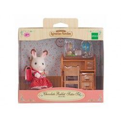 Sylvanian Families® 2204 Set Hermana Coneja Chocolate (Escritorio)
