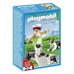 Playmobil® 5213 Border Collies con Cachorro