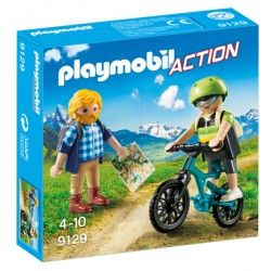 Playmobil® 9129 Ciclista y Excursionista
