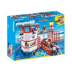 Playmobil® 5539 Estación Guardacostas con Faro