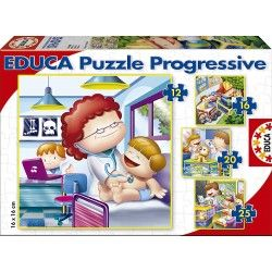 Puzzles Progresivos Educa® 15618 De Mayor Quiero Ser